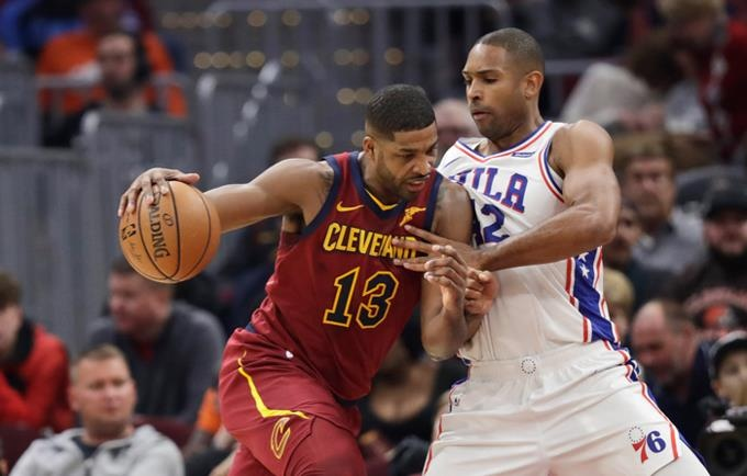 Sixers se imponen a Cavs, Horford anota 11 puntos