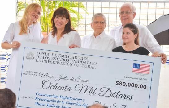Embajadora Robin Bernstein informa inversión de US$11 millones en Puerto Plata
