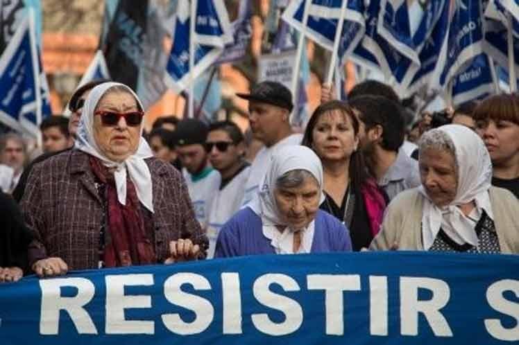 Convocan a nueva Marcha de la Resistencia en Argentina