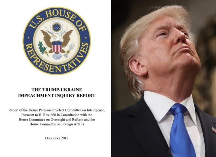 Los 9 señalamientos contra Trump en reporte para juiciopolítico