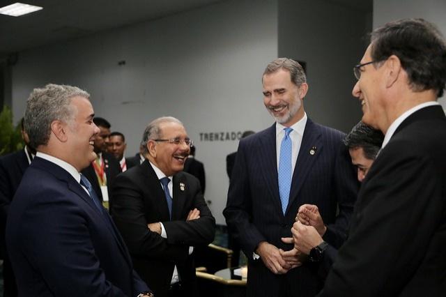 Danilo Medina y el rey Felipe se reunirán mañana a las 11:30 a.m. hora dominicana