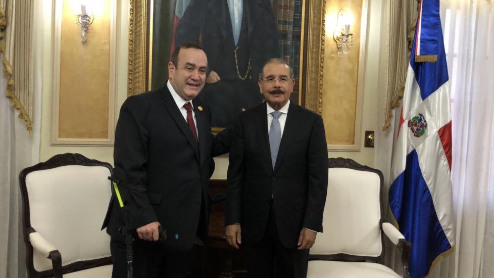 Danilo Medina saldrá hoy hacia Guatemala. Asistirá a toma de posesión presidente electo, Alejandro Giammattei