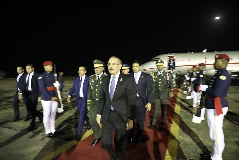 Resultado de imagen para Presidente Medina regresa de Guatemala