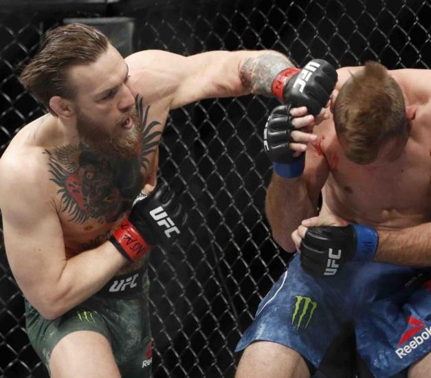 McGregor regresa al UFC con una victoria