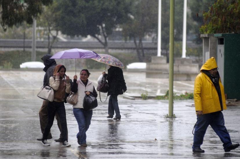 Mateorología pronóstica lluvias débiles hacia el sureste y noreste en horas de la tarde