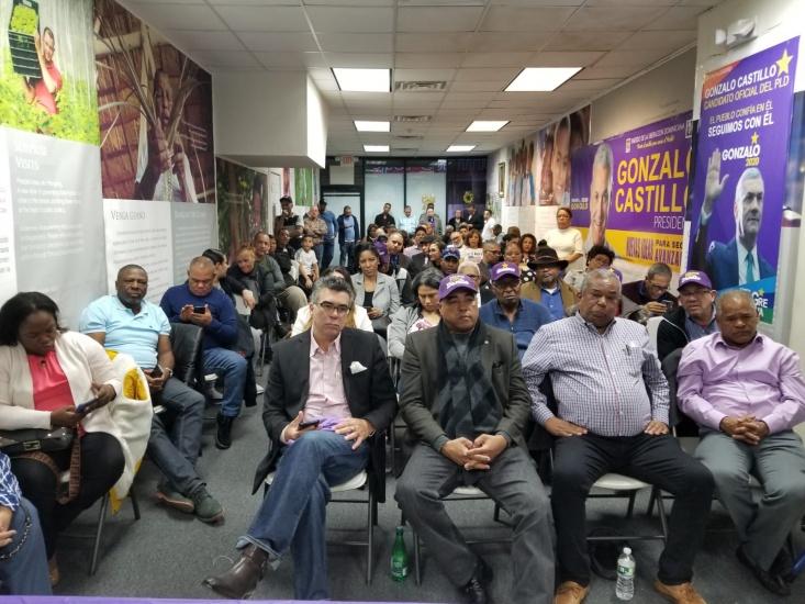 PLD realiza asamblea de dirigentes en Paterson, New Jersey