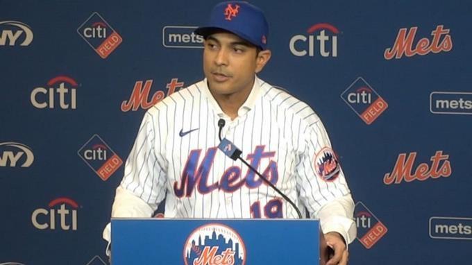 Luis Rojas asegura que llevará a los Mets de NY al éxito; en su presentación como nuevo dirigente