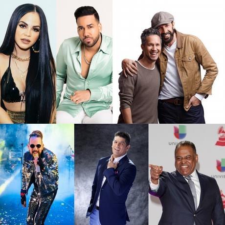 Dominicanos que compiten en Premios Lo Nuestro 2020 y lista completa de nominados