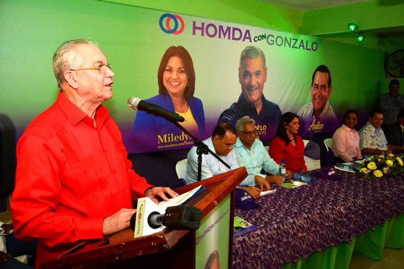 Movimiento HOMDA inaugura local en SFM; anuncia apoyo a candidatos del PLD y aliados