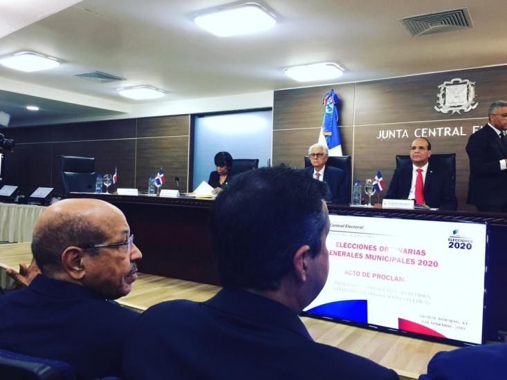Pleno JCE extiende plazo para alianzas de elecciones presidenciales y congresuales