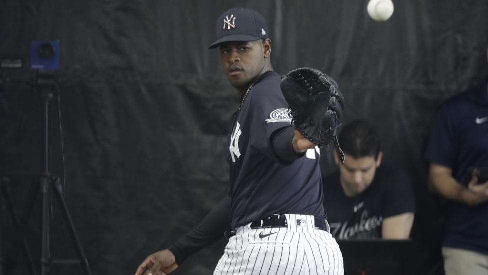 Los Yankees sin diligencias para sustituto de Luis Severino