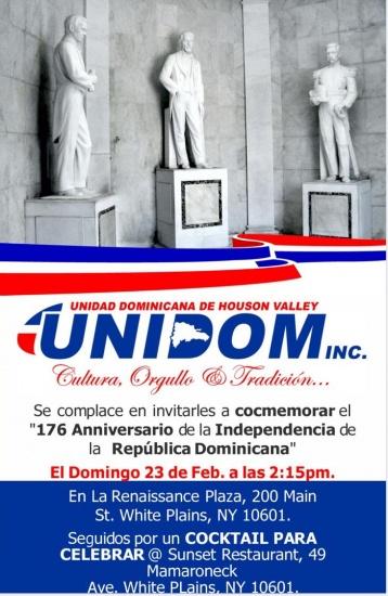 Izaran la bandera Dominicana en la ciudad de White Plains, EEUU