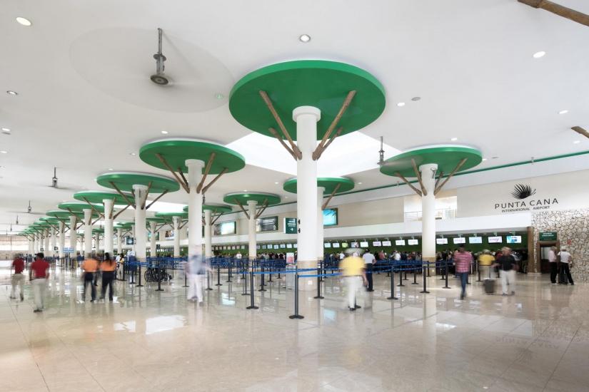 Renovación área de facturación Terminal A 1 - Renovations of check-in area at Terminal A 1.