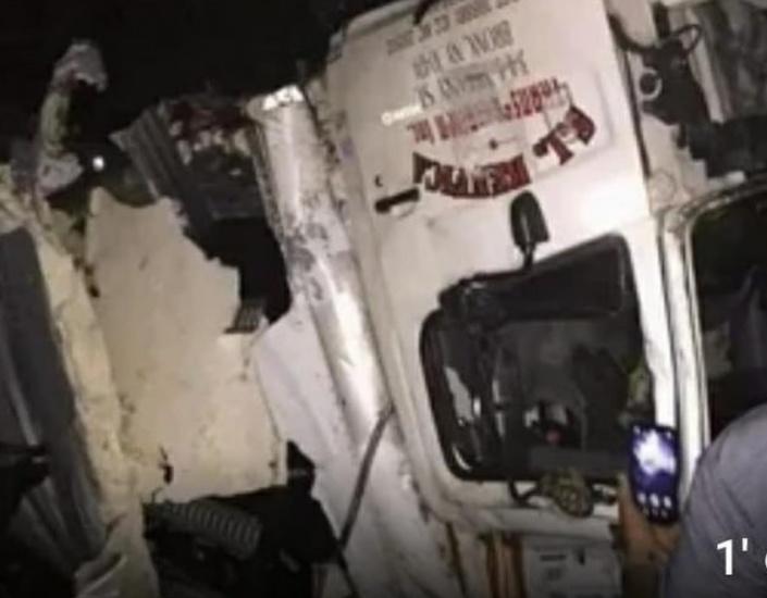 JCE informa accidente en carretera de Nagua con material de elecciones no registró daños