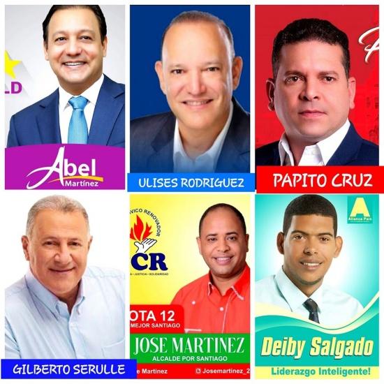 En Santiago el primer boletín favorece el PLD y Abel Martinez como candidato