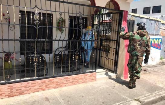 Ejército comienza fumigación en San Francisco de Macorís para evitar propagación del coronavirus