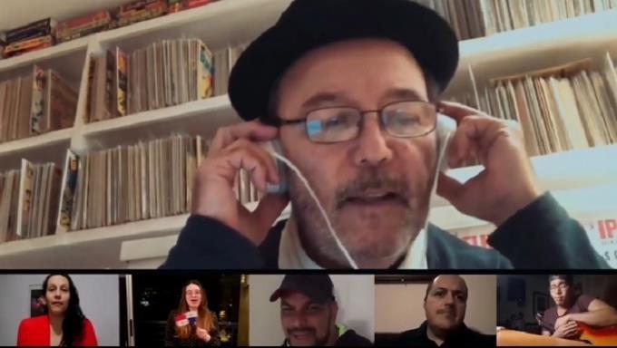 """Rubén Blades usó 166 personas en el coro en la canción """"Para Panamá"""",por el Covid-19"""