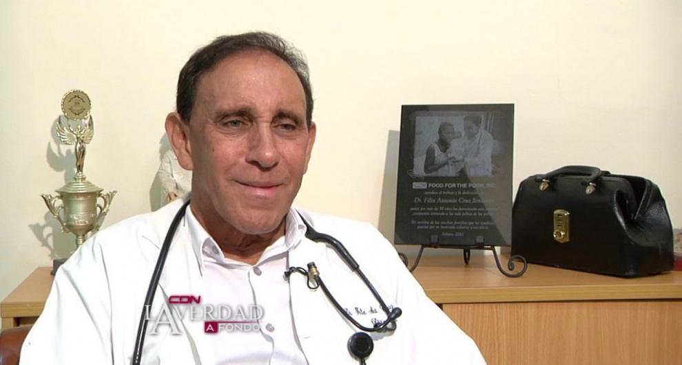 Se realiza levantamiento de personas cercanas a Cruz Jiminián; clínica en proceso de desinfección