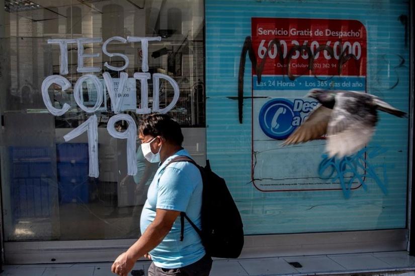 Chile registra contagio masivo del Covid-19 y satura sistema de salud