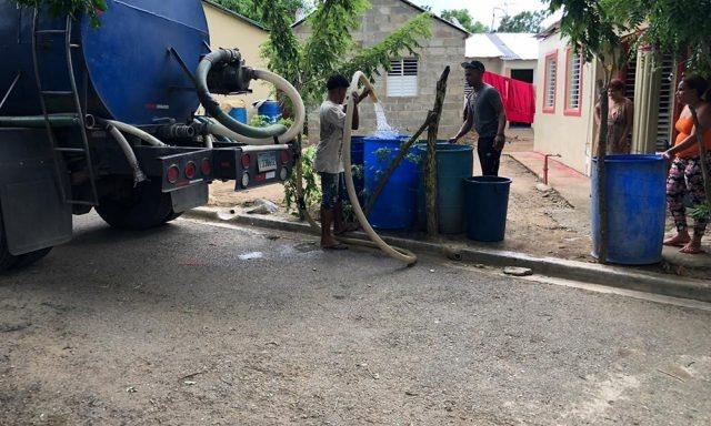 Moca se encuentra afectada por la escasez de agua