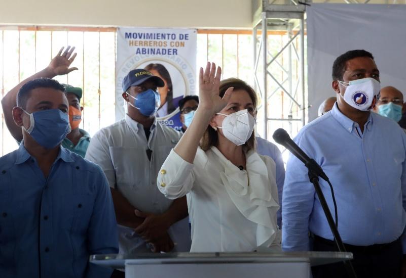 Raquel Peña juramenta cientos de exdirigentes PLD, PRD y ALPAIS que ahora pasan a filas del PRM