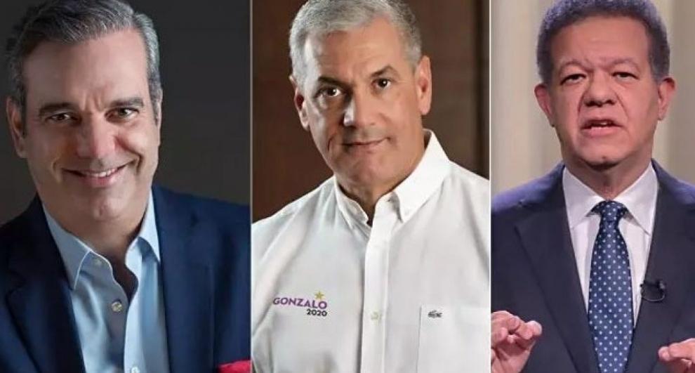Candidatos presidenciales Abinader, Fernández y Castillo expondrán sus planes ante los empresarios