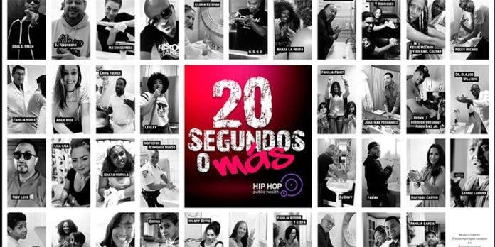 """Artistas latinos piden en una canción «20 segundos más"""" ante el coronavirus"""