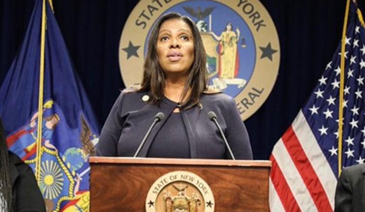 Fiscal General James entrega 1,5 millones de dólares a supervivientes de acoso sexual y represalias en industria de construcción