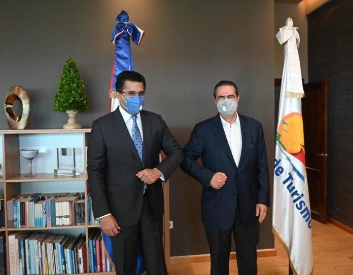David Collado y ministro de Turismo crean comisión de transición tras encuentro