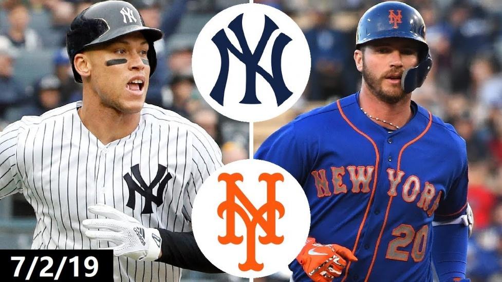 El primer partido Mets y Yanquis está temporada será el 11 de septiembre del 2020,