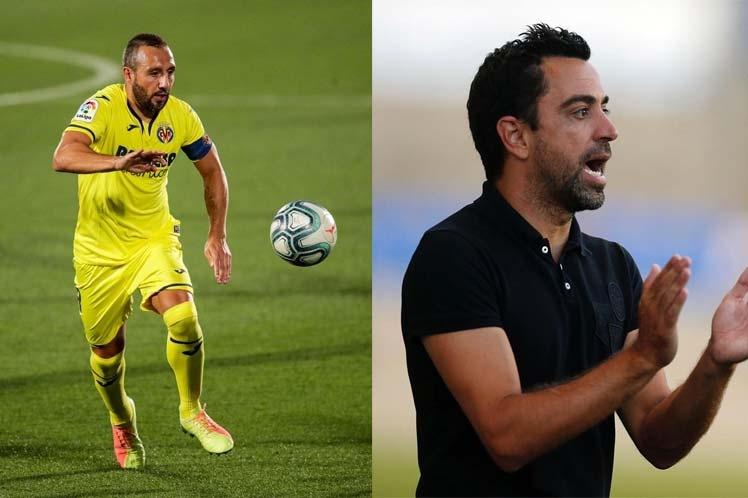 Agradece Santi Cazorla a Xavi por fichaje con club catarí Al Sadd
