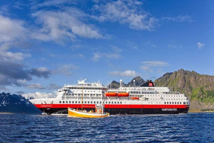 Naviera noruega cancela todos sus viajes de cruceros