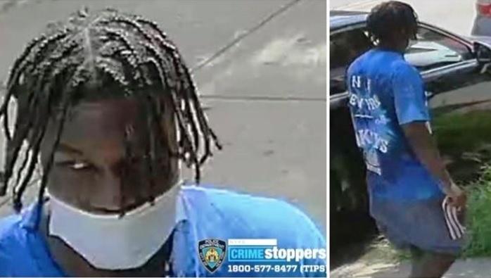 Policía NY persigue delincuente llevó envejeciente hispano a punta de cuchillo retirar dinero del banco
