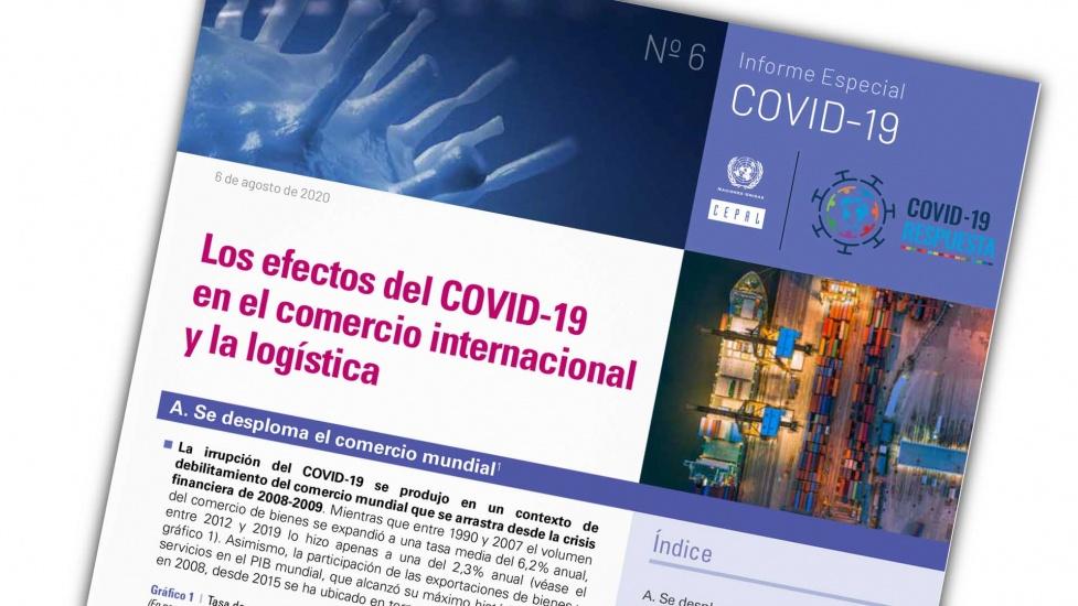 Comercio internacional de América Latina y el Caribe caerá 23% en 2020 debido a los efectos de la pandemia