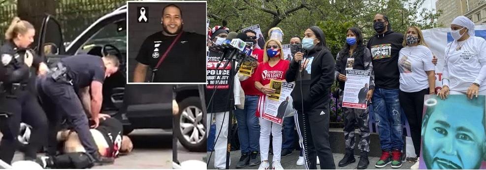 Demandan del alcalde De Blasio despido policías por muerte dominicano en El Bronx