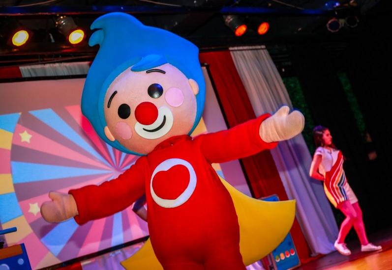 """Desde Argentina, """"El payaso Plim Plim"""" será el primer espectáculo infantil internacional para los niños dominicanos."""