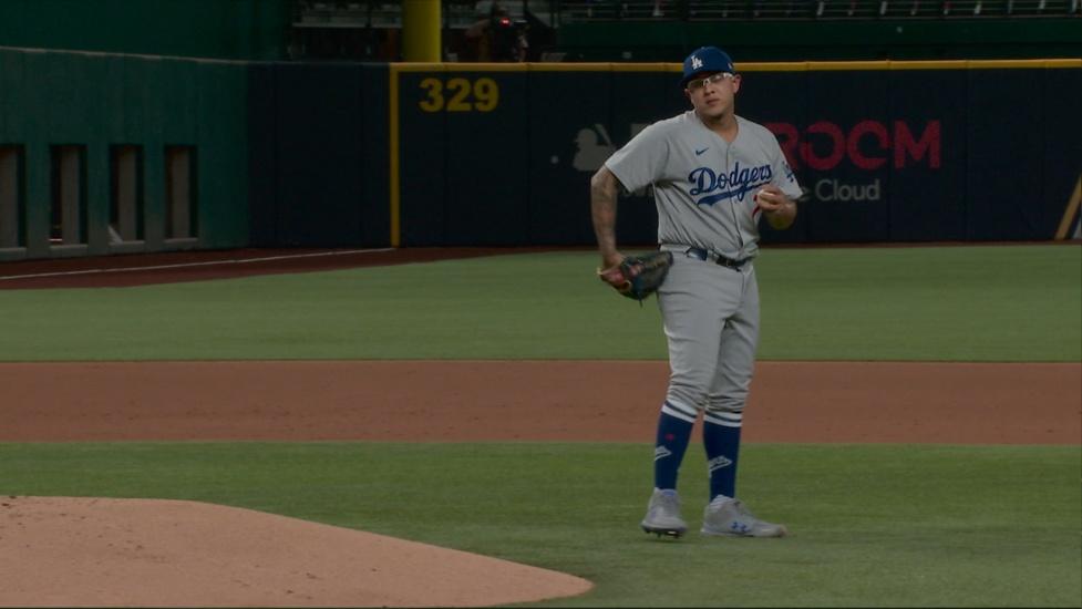 Dodgers a la SCLN con barrida sobre Padres