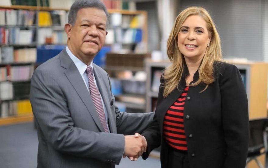 Sergia Elena ex candidata a vice de Leonel Fernández sustituye en Junta Monetaria a Jaime David