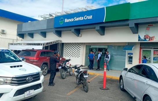 Fiscalía de Santiago y la Dirección Cibao apresan asaltantes de banco en Santiago