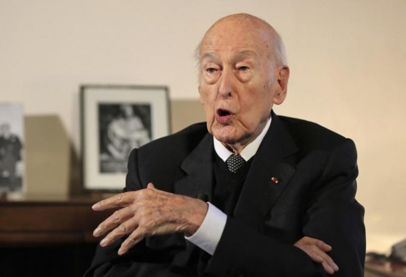 Fallece por coronavirus el expresidente francés Valéry Giscard d'Estaing