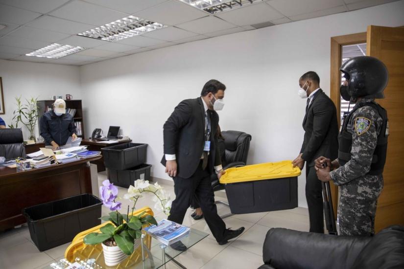 """PGR allanan Cámara de Cuentas como parte de una investigación denominada """"Operación Caracol"""""""