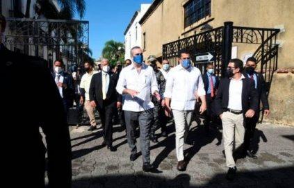 """Abinader: """"Ciudad Colonial será convertida en la mejor de Latinoamérica"""""""