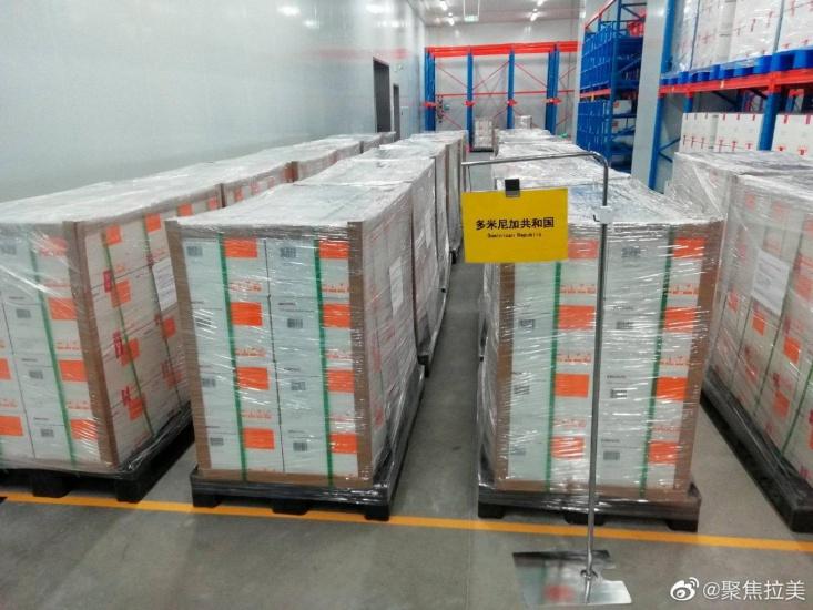 China informa vacunas Sinovac ya están en camino a República Dominicana