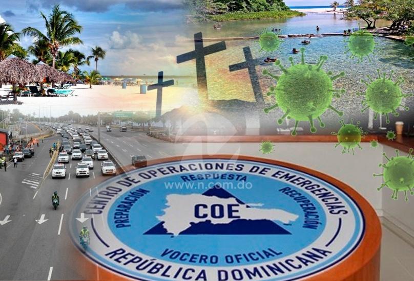 COE diseña plan para operativo Semana Santa con medidas restrictivas ante COVID-19