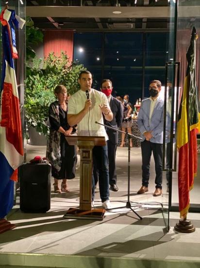 Celebran 130 aniversario de Relaciones Diplomáticas entre el Reino de Bélgica y República Dominicana
