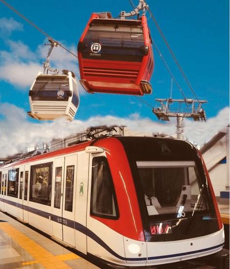 Metro y Teleférico retoman horario habitual de 6:00 de la mañana a 10:30 de la noche