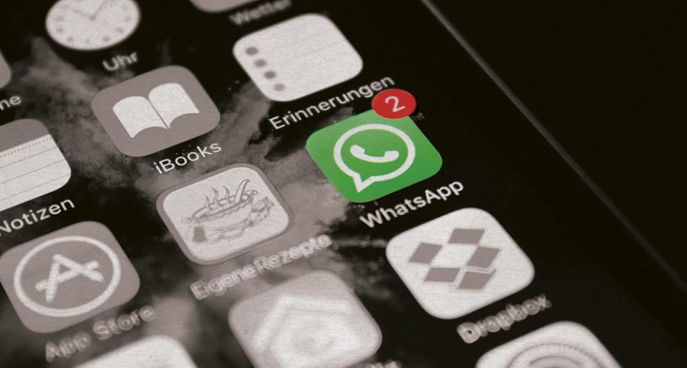 WhatsApp advierte desconectará servicio de mensajería a los usuarios que no acepten sus términos