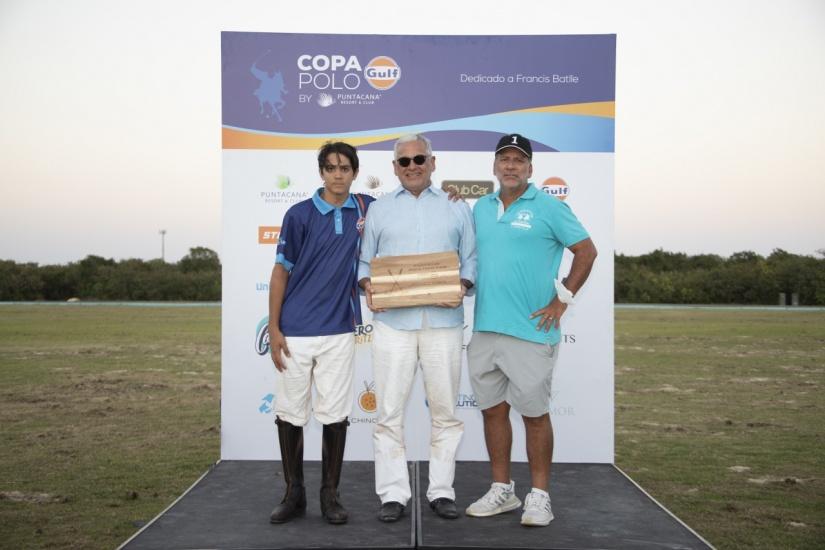 Alex Schad Jr., Federico Ramos y Augusto Altamirano.