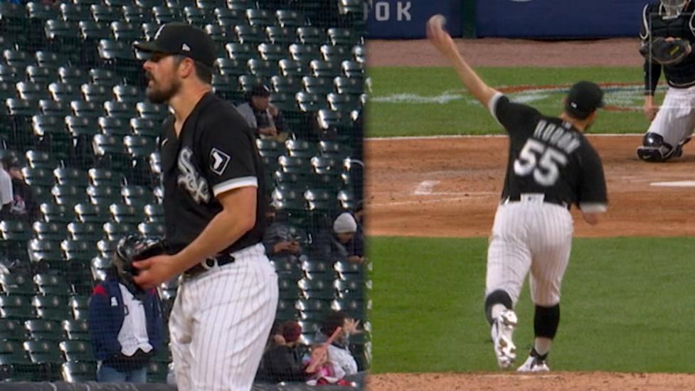 Carlos Rodón lanza no-hitter vs. Cleveland