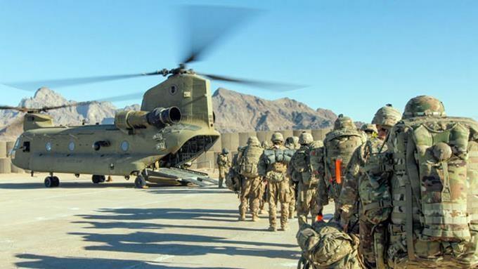 Las tropas de EE.UU. empiezan a retirarse de Afganistán